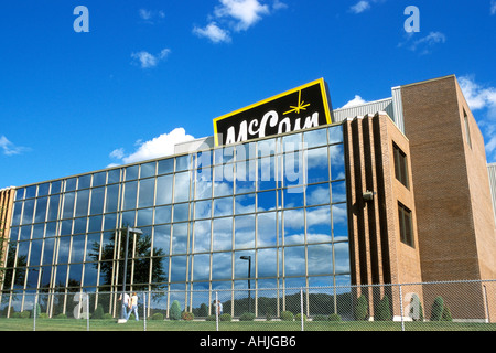 McCain Foods Ltd world headquarters with Florenceville New