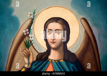 Archangel Gabriel Stock Photo: 268240888 - Alamy