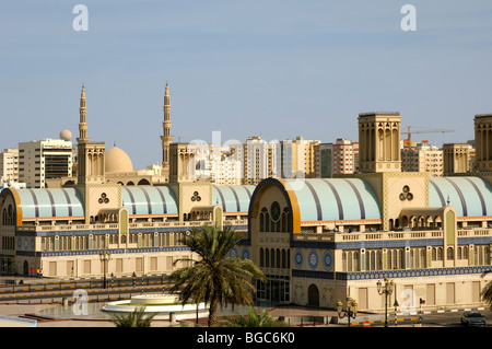 The Central Market in Sharjah (Blue Souq) - the biggest of