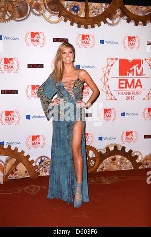 Heidi Klum 19th MTV Europe Music Awards - Arrivals Featuring
