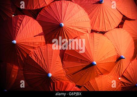 Thailand Asia Chiang Mai paper umbrella parasol colorful colourful