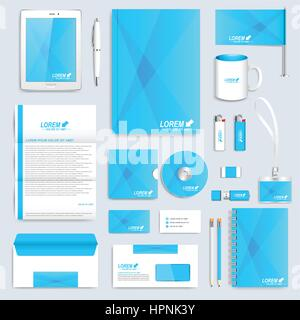Branding Identity set Stock Vector Art & Illustration
