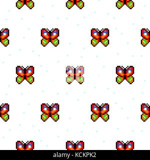 Pixel Art Cartoon Stock Vector Art Illustration Vector