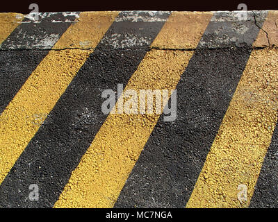diagonal stripes yellow black Stock Photo: 168708671 - Alamy