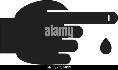 tube test with blood Stock Vector Art & Illustration, Vector Image