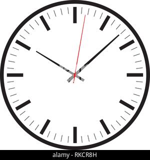 Modern simple design clock icon vector for web, graphic and