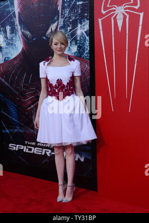 Emma Stone The cast of 'The Amazing Spider-Man' at the